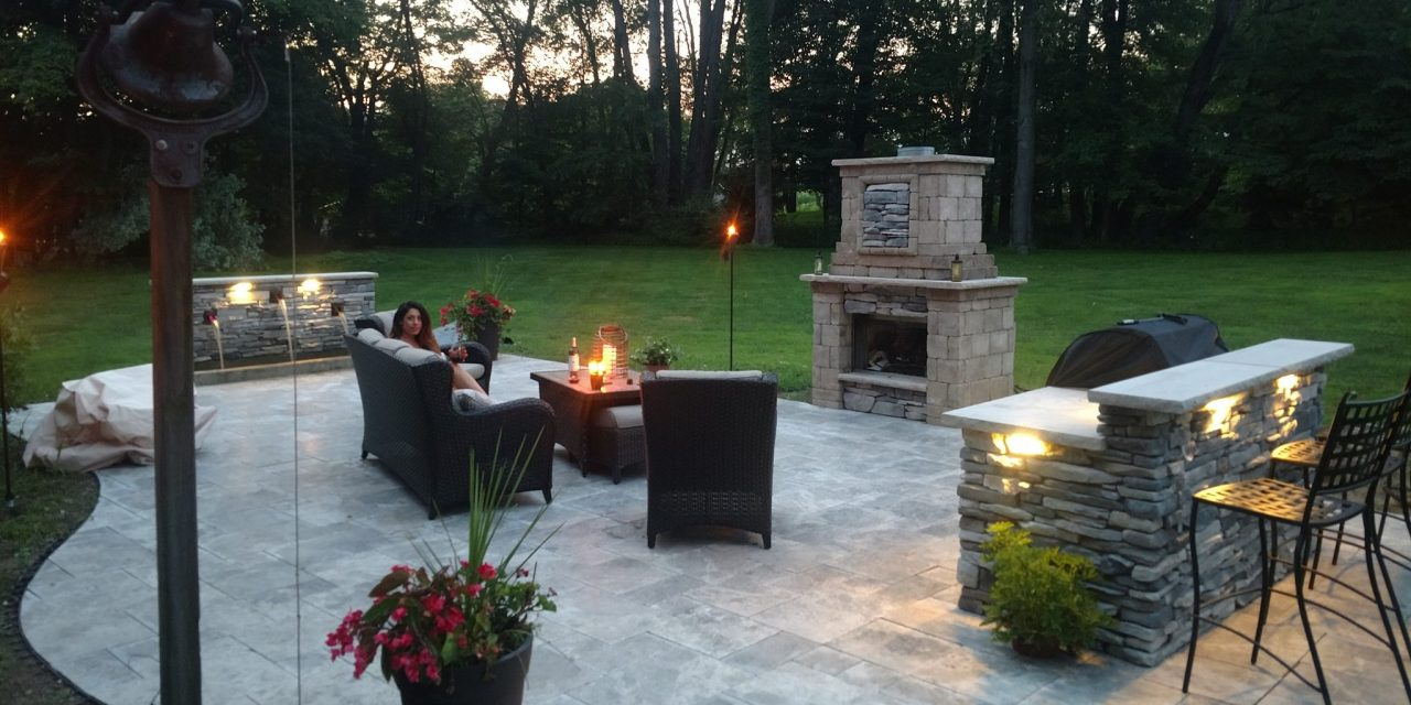 Patios, Fireplaces & Kitchens